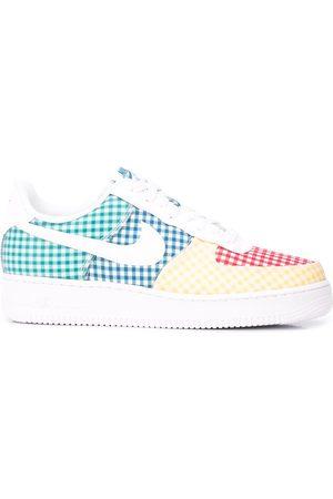 Nike Air Force 1 gingham sneakers