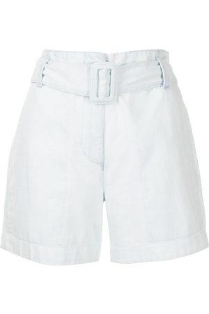 PROENZA SCHOULER WHITE LABEL Mujer Shorts - Shorts con cinturón