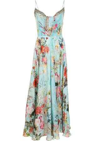 Camilla Mujer Estampados - Vestido de seda con estampado floral