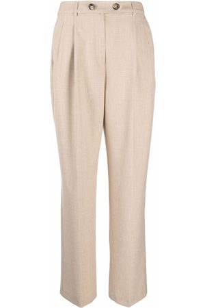 12 STOREEZ Pantalones de corte recto