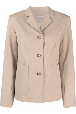 12 STOREEZ Mujer Sacos - Blazer stretch con botones