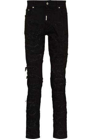 Represent Hombre Skinny - Skinny jeans con detalles rasgados