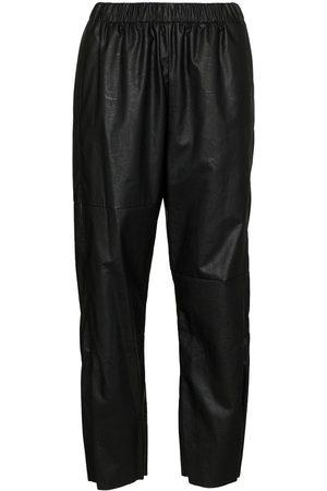 MM6 MAISON MARGIELA Pants con tiro alto