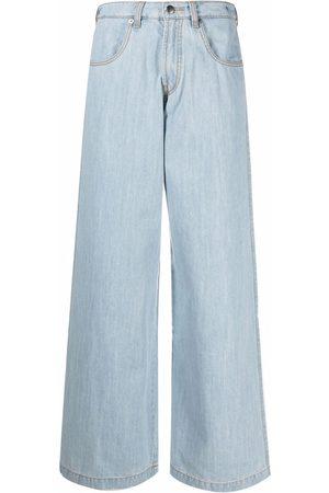 SOCIÉTÉ ANONYME Mujer Jeans - Jeans anchos con tiro alto