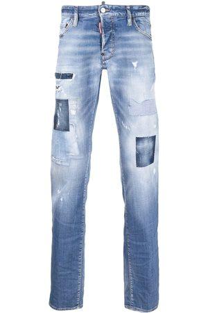 Dsquared2 Jeans bootcut con efecto envejecido