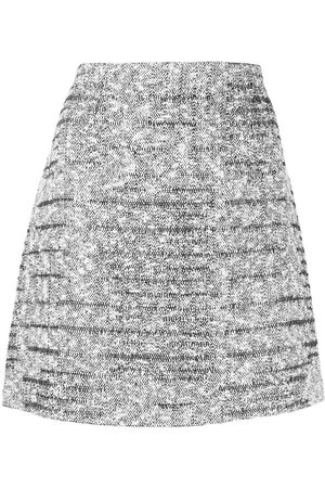Paule Ka Mujer Minifaldas - Falda corta Tweed Lurex