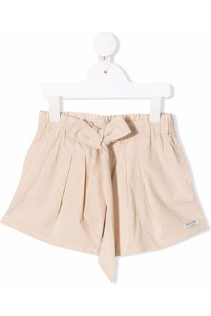 Donsje Shorts con lazo en la cintura