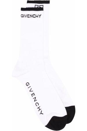 Givenchy Calcetines con logo estampado