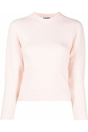 Jil Sander Mujer Suéteres - Suéter con mangas tres cuartos