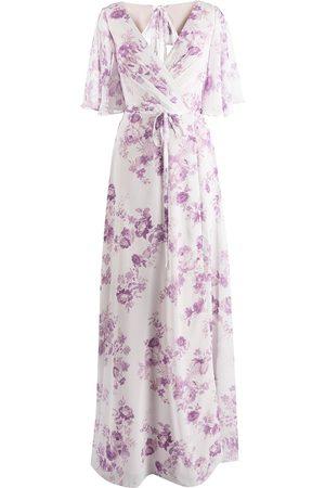 Marchesa Notte Mujer Vestidos de noche - Vestido de fiesta con estampado floral