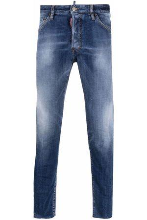 Dsquared2 Hombre Skinny - Skinny jeans con tiro medio