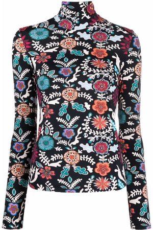 La DoubleJ Mujer Suéteres - Suéter con estampado floral