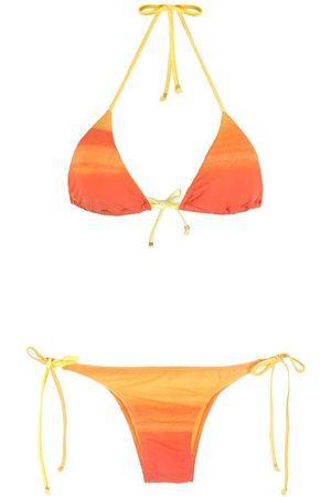 AMIR SLAMA Mujer Bikinis - Bikini con motivo de rayas