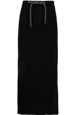 CHRISTOPHER ESBER Mujer Largas - Falda larga con detalle de cristales