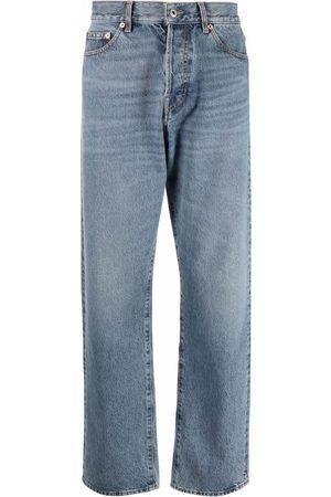 VALENTINO Hombre Rectos - Jeans rectos con efecto lavado