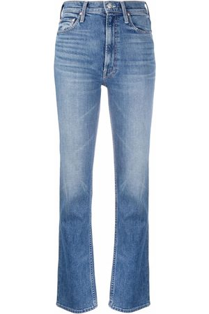 Mother Mujer Rectos - Jeans The High Waisted Rider