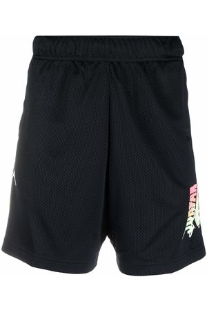 Jordan Hombre Bermudas - Shorts de malla con logo estampado