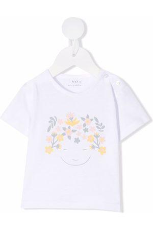 KNOT Playera con estampado floral