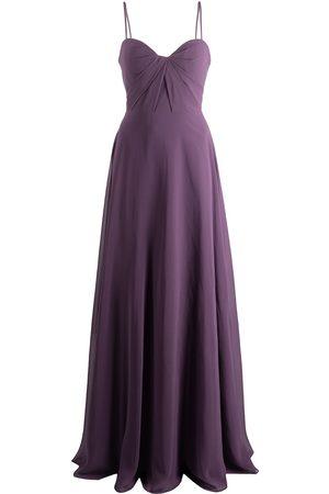 Marchesa Notte Mujer Vestidos de noche - Vestido largo con detalle retorcido