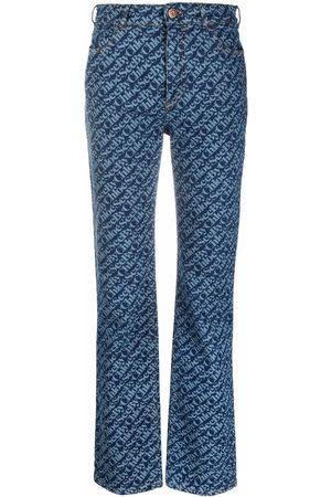 See by Chloé Jeans rectos con logo estampado
