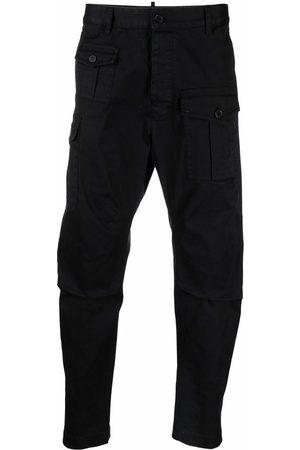 Dsquared2 Hombre Cargo - Pantalones cargo de corte capri