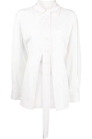 CHRISTOPHER ESBER Mujer Camisas - Camisa con detalle de lazo