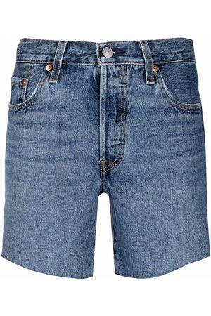 Levi's Shorts de mezclilla con tiro alto
