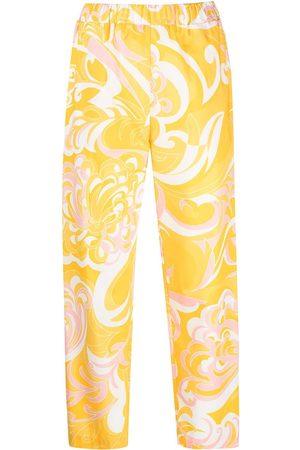 Emilio Pucci Mujer Pantalones y Leggings - Pantalones con estampado Albizia