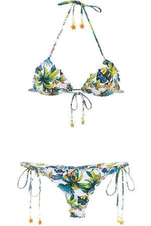 AMIR SLAMA Mujer Bikinis - Printed bikini
