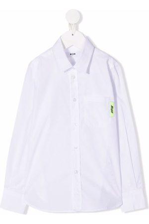 Msgm Niña Camisas - Camisa con bolsillo