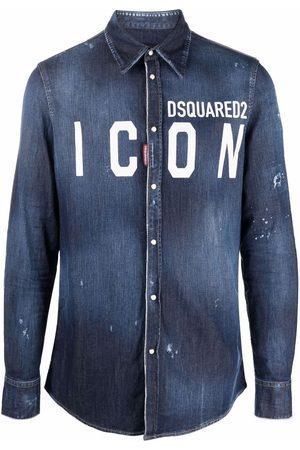Dsquared2 Hombre De mezclilla - Camisa de mezclilla Icon
