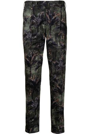 PT01 Hombre De vestir - Pantalones con estampado Tropical Forest