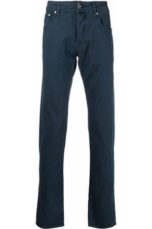 Jacob Cohen Hombre Rectos - Jeans rectos con parche del logo