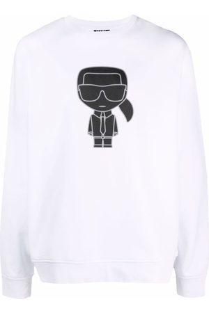 Karl Lagerfeld Hombre Sudaderas - K/Ikonik rib-trimmed sweatshirt