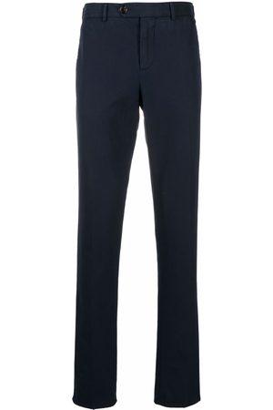 Brunello Cucinelli Pantalones chino slim con tiro medio