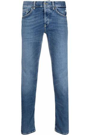 Dondup Hombre Skinny - Skinny jeans con efecto lavado