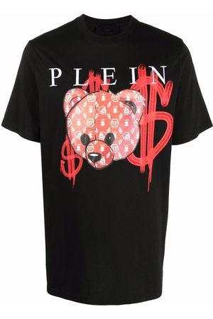 Philipp Plein Hombre Playeras - Playera con logo y estampado gráfico