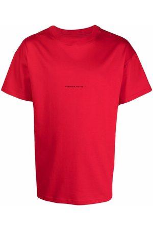 Styland Camiseta con eslogan y cuello redondo
