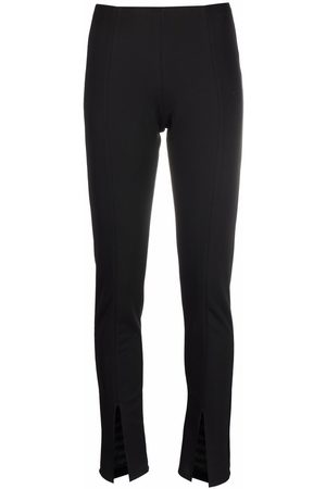 Alchemy Pantalones slim con abertura frontal