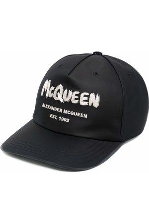 Alexander McQueen Hombre Gorras - Gorra con logo estampado