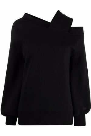 Atu Body Couture Mujer Suéteres - Suéter con tira capitonada en un hombro