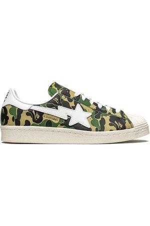 adidas Hombre Tenis - Zapatillas Superstar ABC Camo de x BAPE