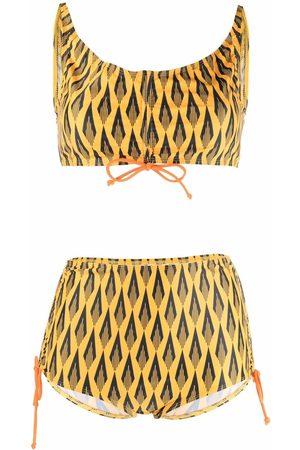 Paco rabanne Mujer Bikinis - Bikini Ciao Paco con estampado geométrico