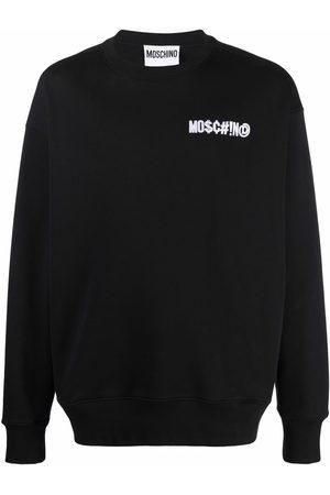 Moschino Suéter con parche del logo
