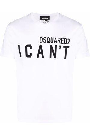 Dsquared2 Hombre Playeras - I can't logo T-shirt