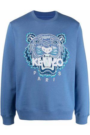 Kenzo Hombre Sudaderas - Tiger head logo sweatshirt