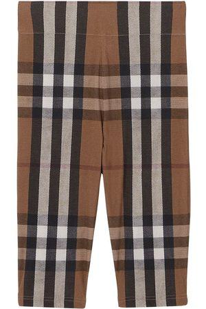 Burberry Mujer Shorts - Check-print cycling shorts