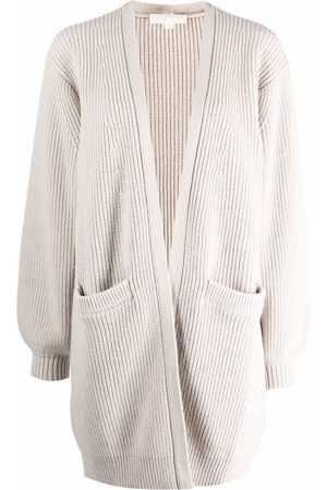 Michael Kors Mujer Cárdigans - Ribbed knitted cardigan