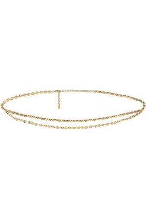 Ettika La correa de cadena en color oro metálico talla all en - Metallic Gold. Talla all.