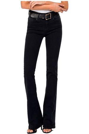 Replay New Luz Flare Jeans 25 Dark Grey